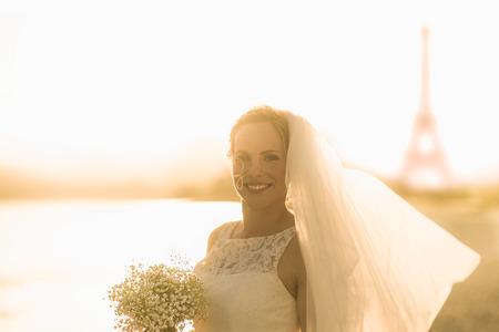 destination wedding: Destination Wedding France Paris Bride