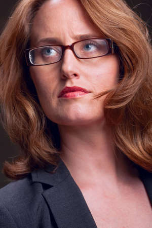 Portrait of a businesswoman wearing glasses Stock Photo - 6683405