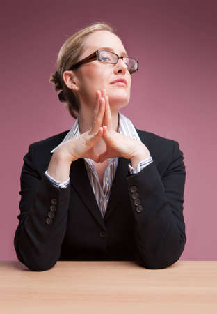 Female boss looking at camera with confident expression Stock Photo - 6743473