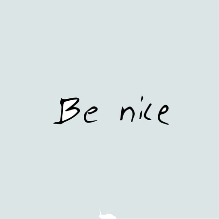 Be nice, quote text