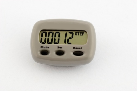 A step counter showing 12 steps. Stock Photo - 8415141