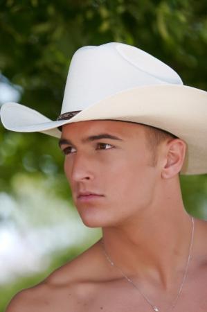 Sexy folks in the american west Standard-Bild