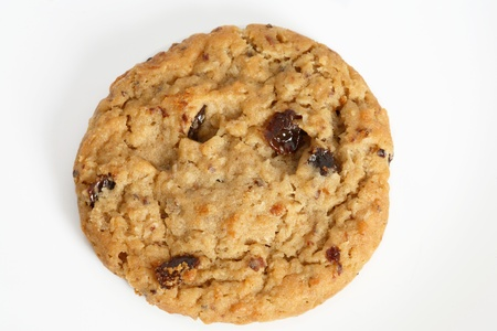 raisin: Outmeal cookies with raisins. Stock Photo