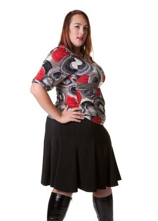 plus sized: Plus sized fashion model