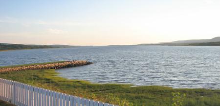 The Bay of Fundy at Port Royal, Nova Scotia Reklamní fotografie