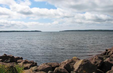Hillsborough Bay, Charlottetown, Prince Edward Island Reklamní fotografie
