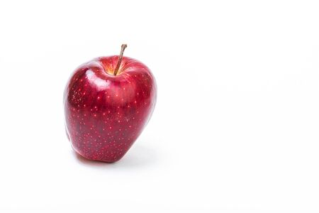 fruit red Apple on a white background isolated