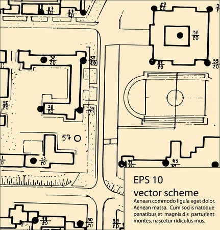 architecture plans: Architectural background with plans of building
