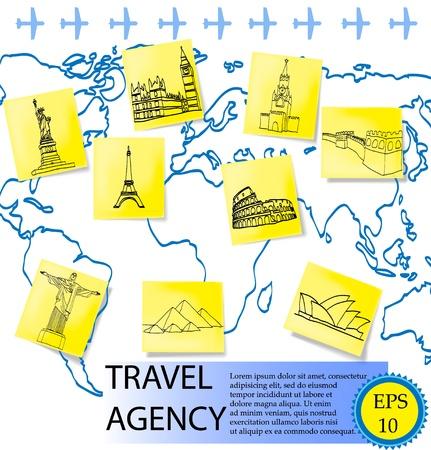 travel agency Stock Vector - 13435452