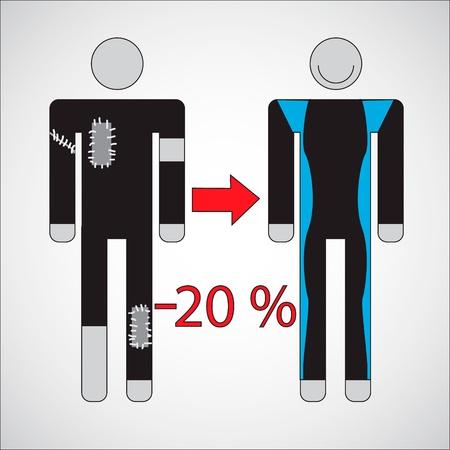 wetsuit: wetsuit isolated on white background