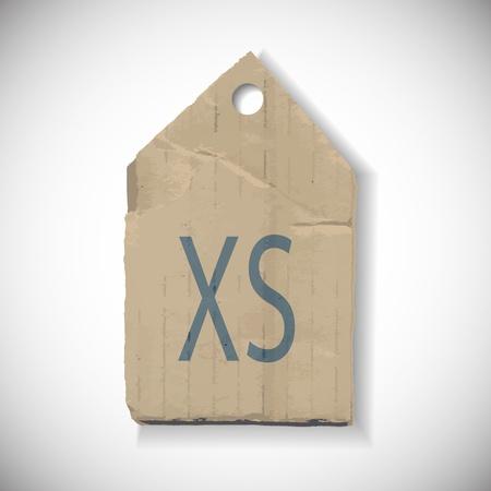 xl: Size label Illustration