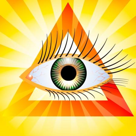 seeing: All seeing eye