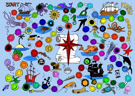 brettspiel: Pirate Board Game
