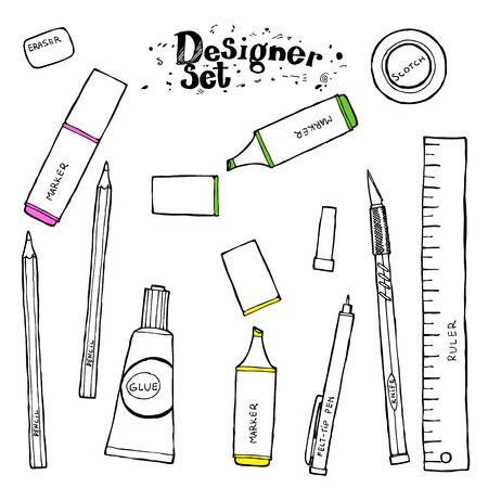 toolkit: Designers toolkit - Hand drawn collection