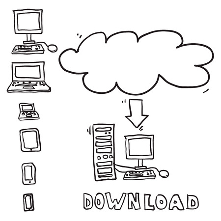 Vector sketch computing download cloud Vector