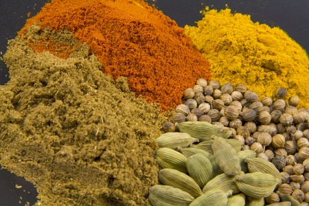 A selection of east Indian spices