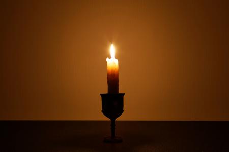 Kerze: Die Kerze Lizenzfreie Bilder