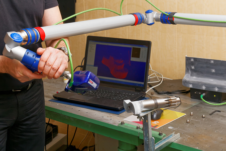 programm: Reverse Engineering with 3D Scanner. CNC Digitizing.