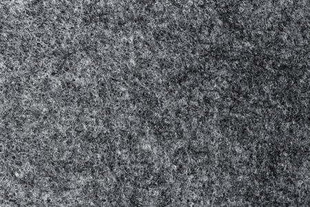 villus: Closeup texture of artificial grey felt. High Resolution.