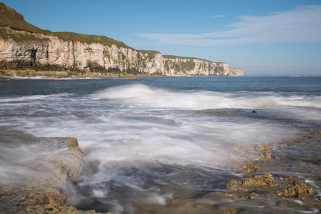 yorkshire and humber: Thornwick Bay near Flamborough Head, East Yorkshire