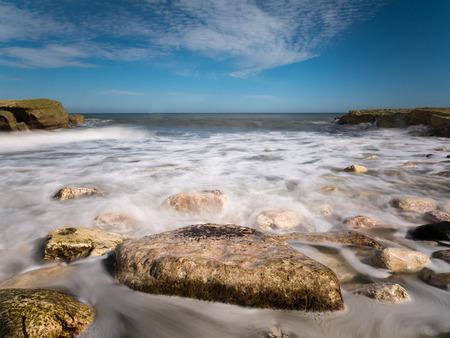 yorkshire and humber: Thornwick Bay near Flamborough Head, East Yorkshire