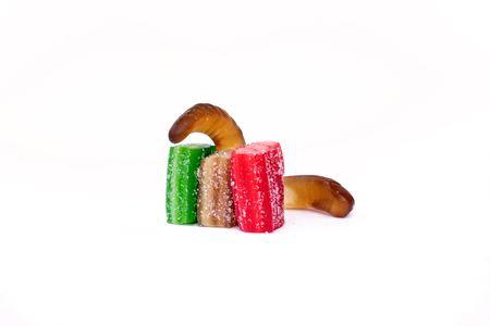 Gelatin Sweets With Gelatin Snake
