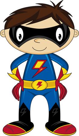 heroic: Cartoon Heroic Superhero Boy