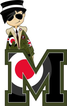 M is for Mod Ilustração
