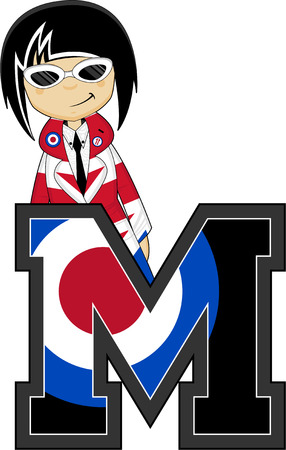 subculture: M is for Mod Illustration