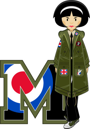 mod: M is for Mod Illustration