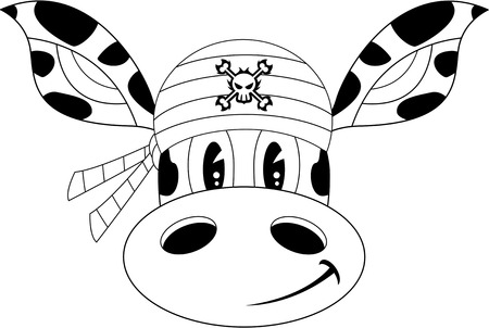 piracy: Giraffe Bandana Pirate