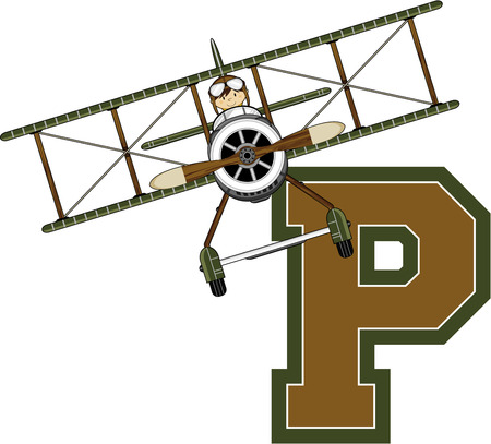 P is for Pilot - WW1 Airforce Pilot
