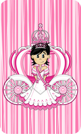 Royal Fairytale Princess and Carriage