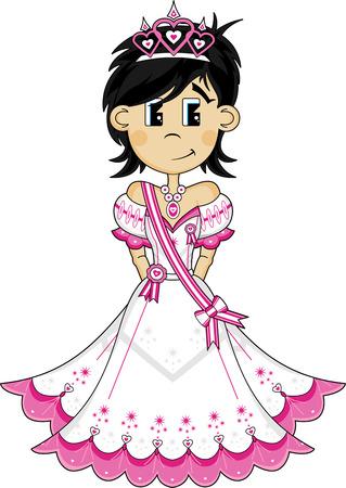 Cute Fairytale Royal Princess