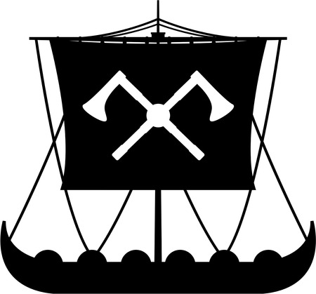 Viking Warrior Longboat