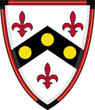 lys: Medieval Knights Fleur De Lys Shield