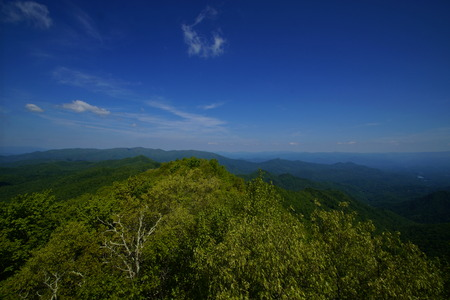 appalachian: Spring on the Appalachian Trail Stock Photo