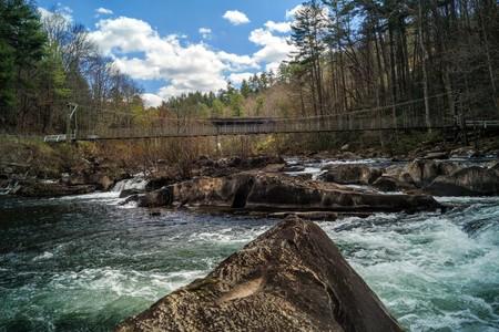 appalachian trail: Cheoah River Rapids