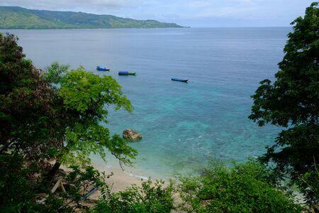 Indonesia Alor Islands Archipelago dive spot landscape wallpaper