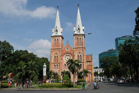 Saigon Vietnam - Notre Dame Cathedral of Saigon