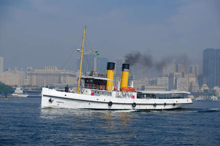 Brazil Rio de Janeiro - Old steamship in Guanabara Bay Reklamní fotografie
