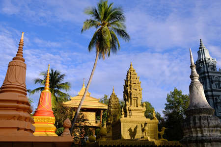 Religious places - Buddhism Cambodia Siem Reap Wat Damnak