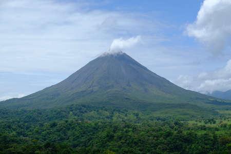 Costa Rica Arenal Volcano National Park - Arenal Volcano - Volcan Arenal