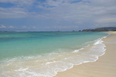 Indonesia Lombok - Coastal strip Elizabeth Beach