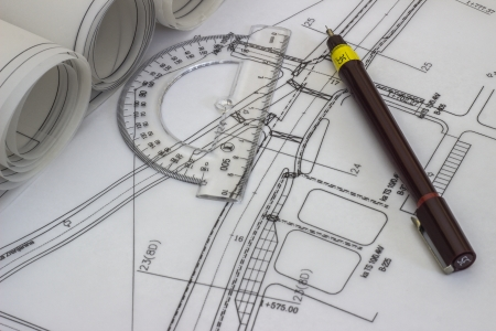 Tehnical drawing photo