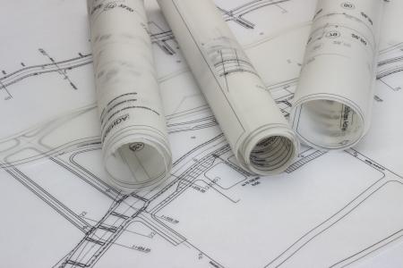Architect drawing photo