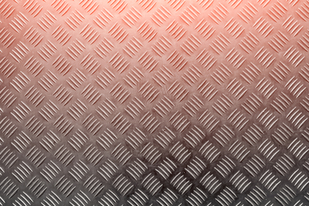 Background of metal with repetitive patten metallic color