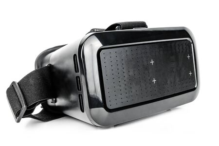 virtual reality glasses isolated on white background. Technology concept, future Фото со стока