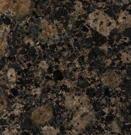 Granite texture, Baltic Brown variety Stock Photo - 3123408
