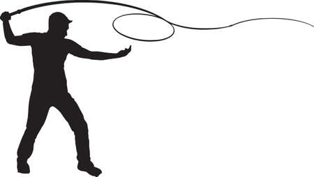 Man Cracking Whip